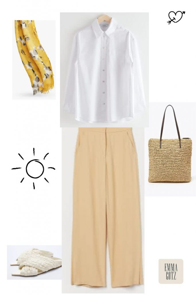 summer date outfit women over 50's and 60's
